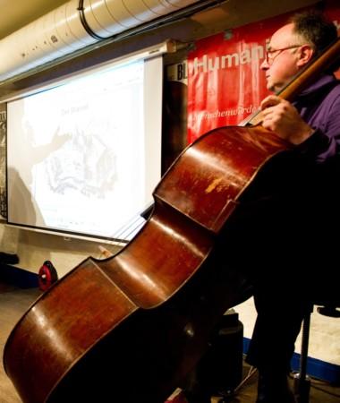Beitragsbild Vergegenwärtigung des Vergangenen. Eine Konzertlesung mit Text, Bild und Musik