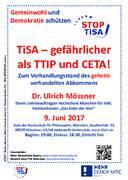 TiSA – gefährlicher als TTIP und CETA!