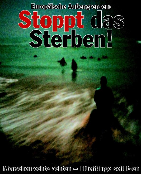 Beitragsbild Stoppt das Sterben an den Grenzen Europas!