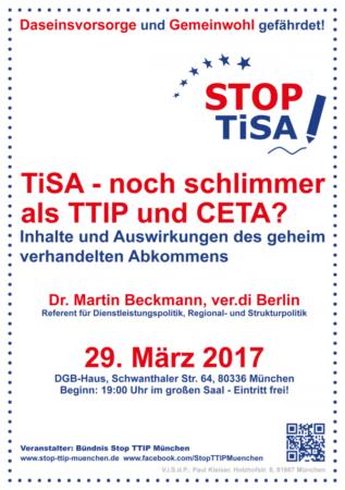 TISA - noch schlimmer als TTIP und CETA?