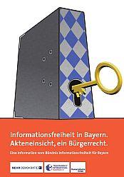 Beitragsbild Informationsfreiheit in Bayern. Akteneinsicht, ein Bürgerrecht.