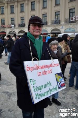 ACTA Großdemo in München