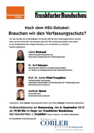 Nach dem NSU-Debakel: Brauchen wir den Verfassungsschutz?