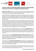 Hamburg: Umstrittenes Verfassungsschutzgesetz beschlossen