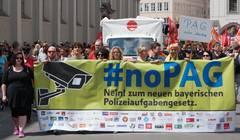 Beitragsbild Mehr als 40.000 protestieren gegen das neue Polizeiaufgabengesetz