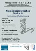 Nationalsozialistisches Strafrecht - Kontinuität und Radikalisierung