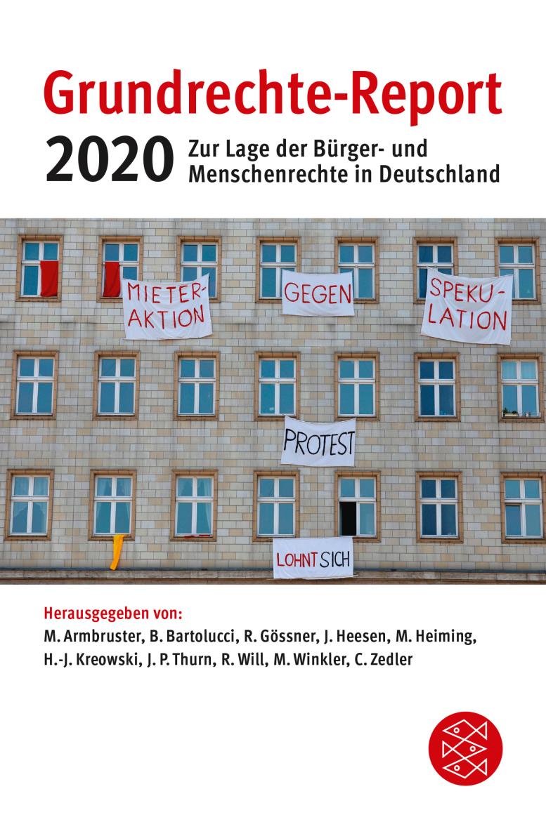 Beitragsbild Grundrechte-Report 2020 der Öffentlichkeit vorgestellt