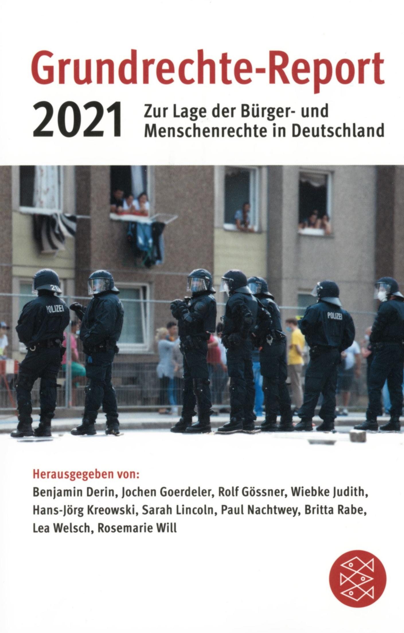 Beitragsbild Grundrechte-Report 2021: Ungleiche Freiheiten und Rechte in der Krise