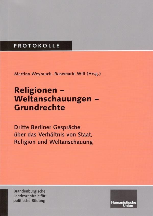 Beitragsbild Religionen - Weltanschauungen - Grundrechte
