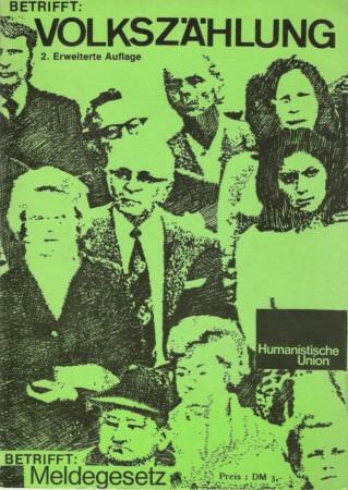 Beitragsbild Betrifft: Volkszählung. Betrifft: Meldegesetz