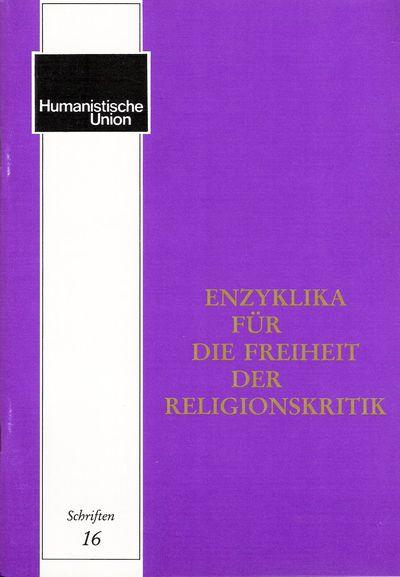 Beitragsbild Enzyklika für die Freiheit der Religionskritik