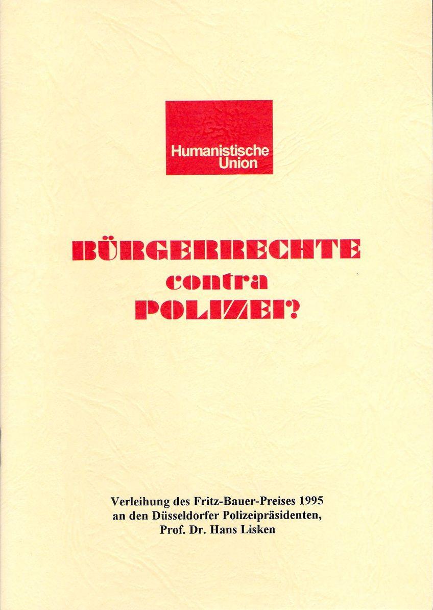 Beitragsbild Bürgerrechte contra Polizei?