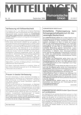 Beitragsbild Mitteilungen Nr. 131 (Heft 3/1990)