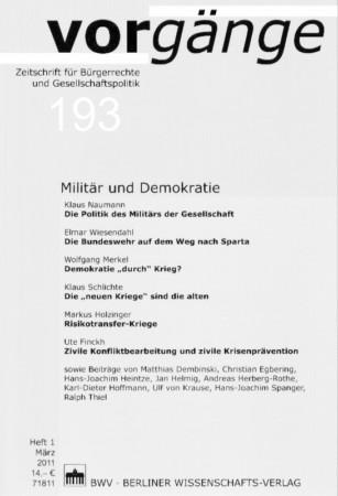 Beitragsbild Die aktuellen vorgänge zum Thema: Militär und Demokratie