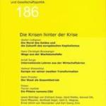 vorgänge Nr. 186: Die Krisen hinter der Krise