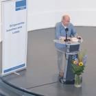 Klaus Eschen während der Rede
