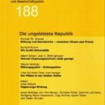 vorgänge Nr. 188: Die ungebildete Republik