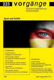 vorgänge Nr. 223: Sport und Politik