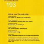vorgänge 193: Militär und Demokratie