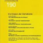 vorgänge 190: Die Erosion der Demokratie