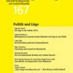 vorgänge Nr. 167: Politik und Lüge