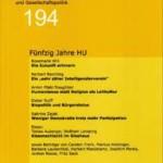 vorgänge 194: Fünfzig Jahre HU