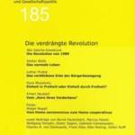 vorgänge Nr. 185: Die verdrängte Revolution
