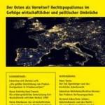 vorgänge Nr. 224: Der Osten als Vorreiter? Rechtspopulismus im Gefolge wirtschaftlicher und politischer Umbrüche