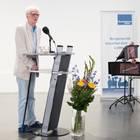 Hans-Christian Ströbele während der Rede