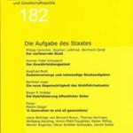 vorgänge Nr. 182: Die Aufgabe des Staates