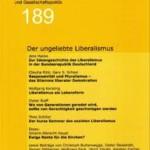 vorgänge Nr. 189: Der ungeliebte Liberalismus